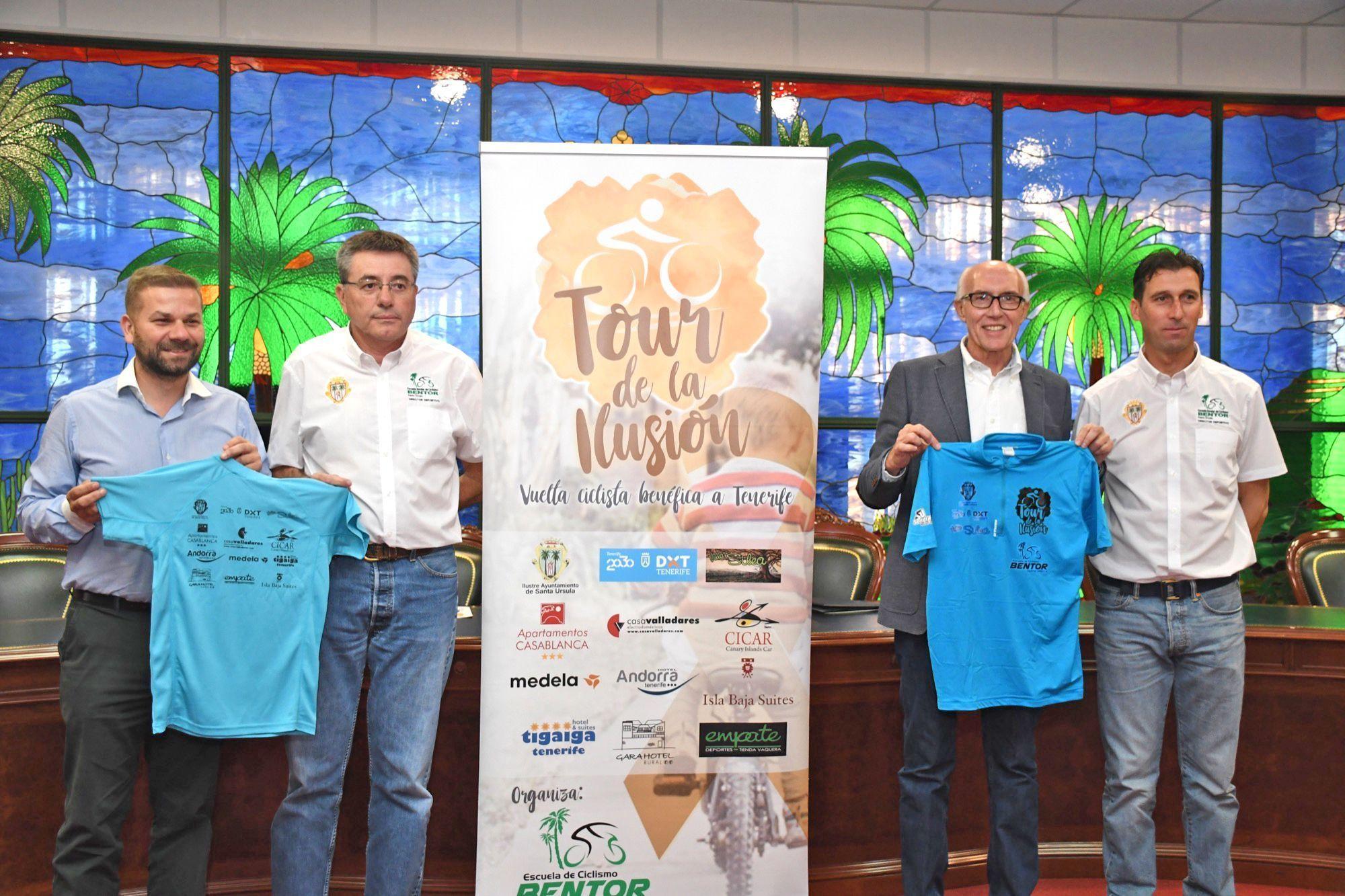 Rueda de Prensa El Tour de la Ilusión pedalea por los niños con cáncer