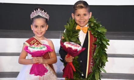 Sara Lorente y Gabriel Martín, Reina y Mister Infantil 2019
