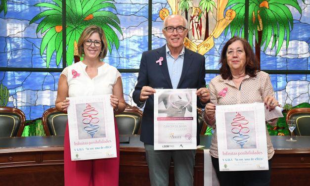 El Ayuntamiento despliega su programación para concienciar sobre el cáncer de mama