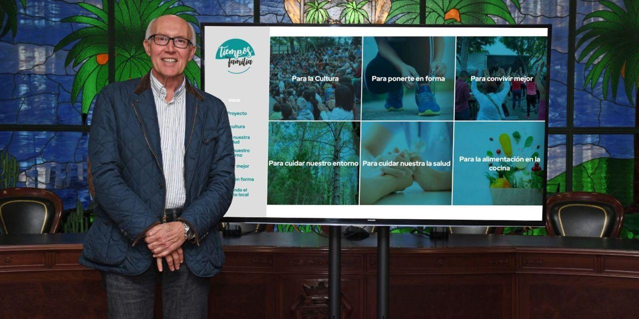 El Ayuntamiento de Santa Úrsula pone en marcha el recurso web 'Tiempos en Familia'