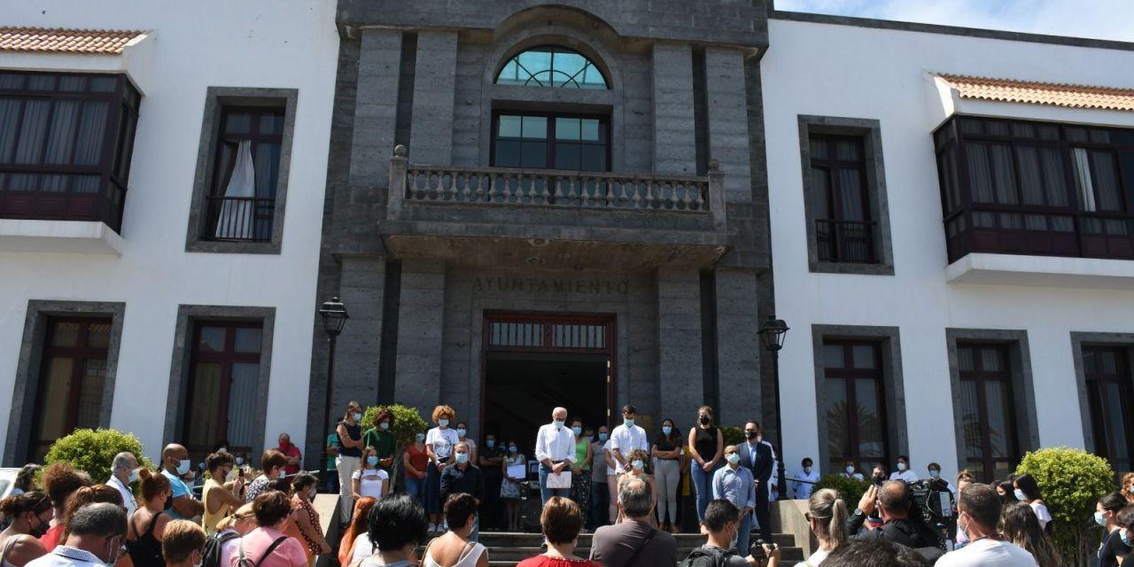 Santa Úrsula expresa el rechazo a la Violencia de Género y recuerda a la mujer asesinada