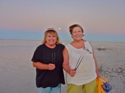 Sanibel Sisters Linda and Judith