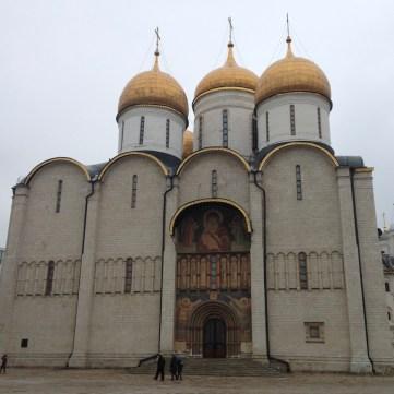 Cathédrale de la Dormition au Kremlin