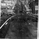 1977 News Press Photo showing the widening of the Belt Highway – St. Joseph, Mo.