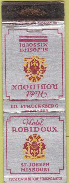 Hotel Robidoux St. Joseph Mo