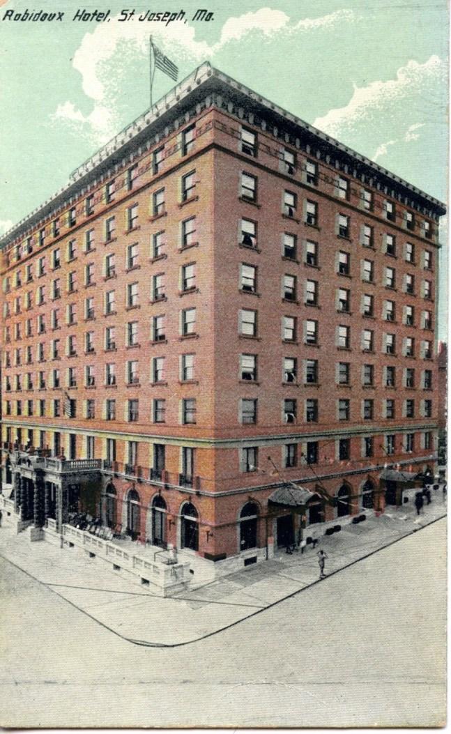 Robidoux Hotel Saint Joseph Mo