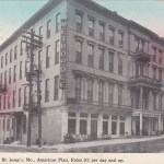 Hotel Metropole St. Joseph Mo Rates $2 per day.