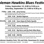 Coleman Hawkins Blues Festival Saint Joseph Missouri