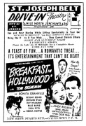 Opening day movie ad from the Belt Drive-In St. Joseph Mo July 11,1947