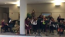 A wonderful performance this week from Benton High School's orchestra at Mosaic Life Care.