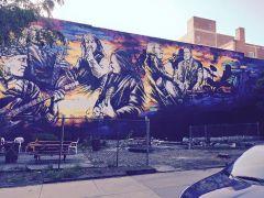 Felix Street Mural Coleman Hawkins Park