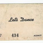Bill Foster of Lets Dance ticket