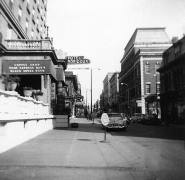Fifth and Francis in 1955