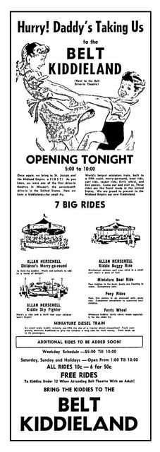 Opening day Ad June 23, 1951