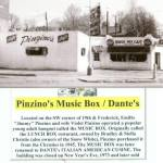 Pinzino's Music Box Cafe on Frederick