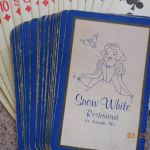 Snow White playing cards