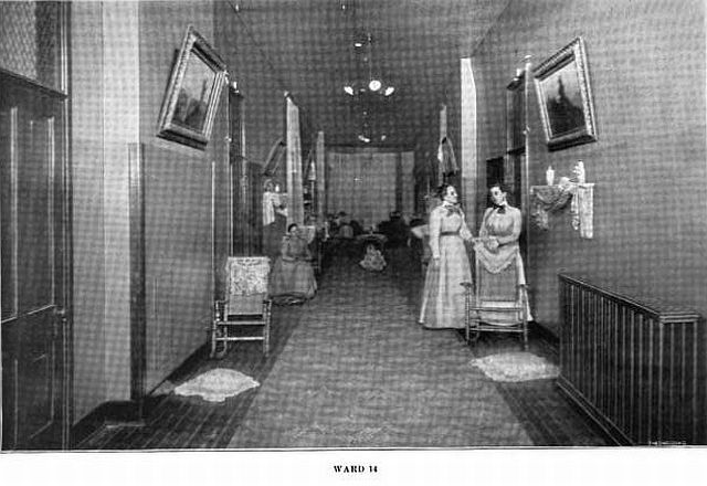 st joe state hospital womens ward 1907