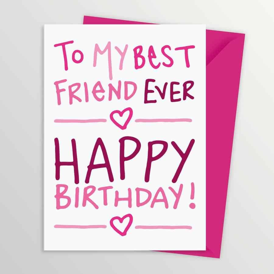 Happy Birthday Quotes Best Friend Girl: 120 Short And Long Birthday Messages For Best Friend With