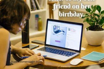 Letter To My Best Friend On Her Birthday