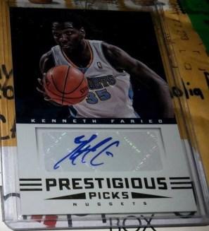 2012 Panini Prestige card #20