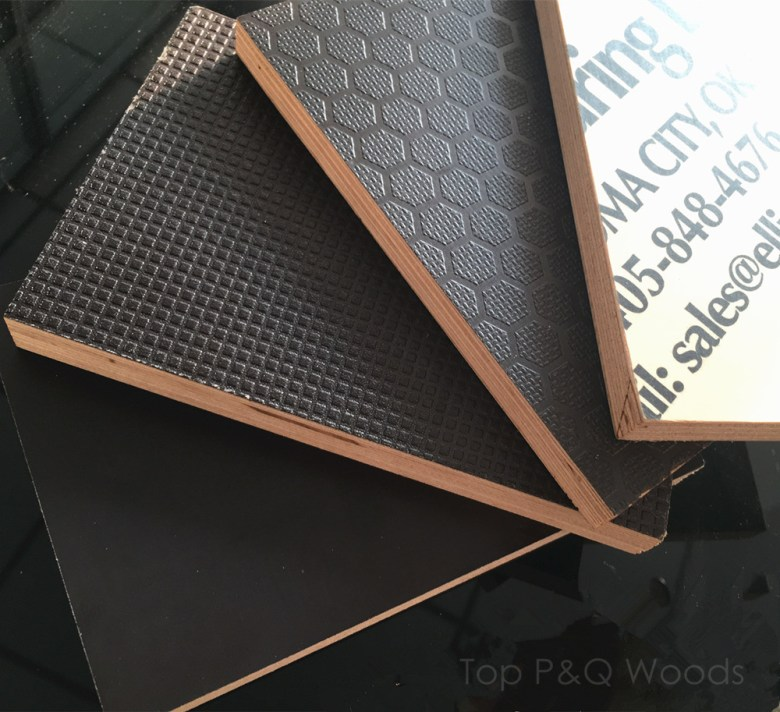 Non-Slip-Black-Brown-Film-Faced-Plywood-Shuttering-Plywood-Marine-Plywood