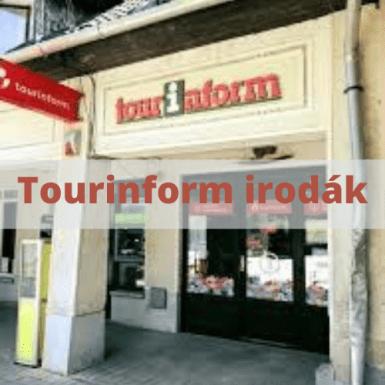 tisza-tó tourinform irodák