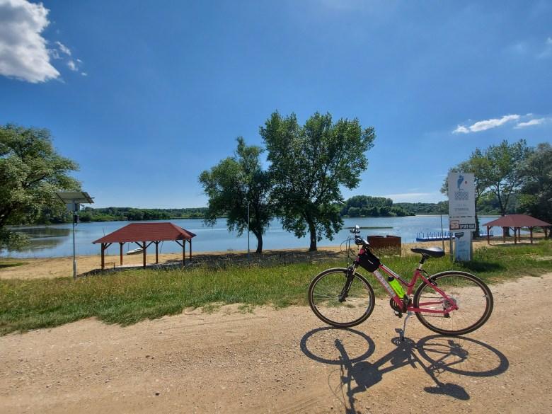 tisza-tó kerékpár nagykör tiszabábolna strand