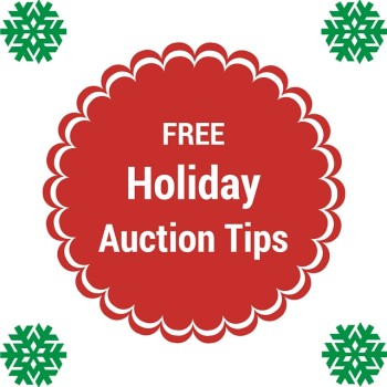 Free Holiday Auction Tips