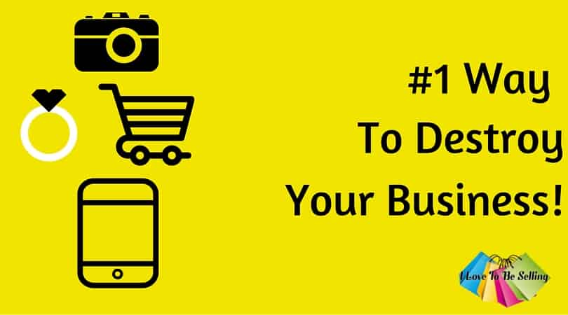 The #1 Way To Destroy Your Sales on eBay, Etsy and Amazon!
