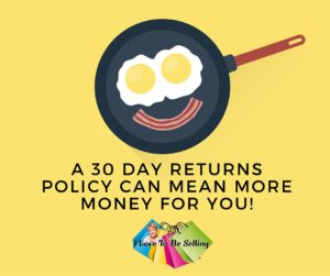 Offer 30 Returns To Keep Top Rated Plus Discount!