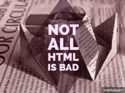Not All HTML Is Bad
