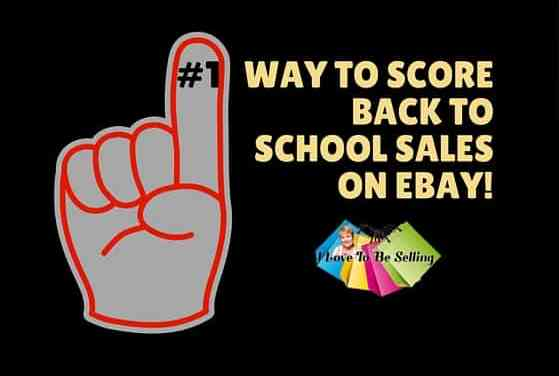 #1 Way To Score Back To School Sales On eBay!