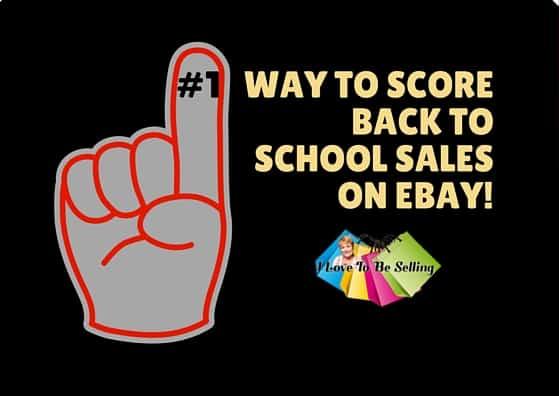#1 Way To Score Back To School Sales On eBay!