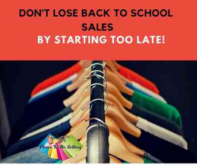 Don't Look Back To School School By Starting Too Late!
