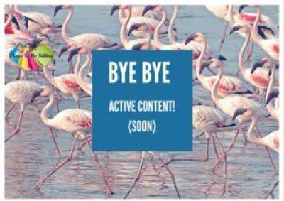 June 17 Deadline For Active Content!