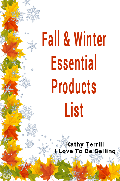 Download Fall & Winter Essential Products List