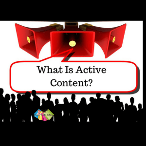 What is Active Content on eBay? #ActiveContent