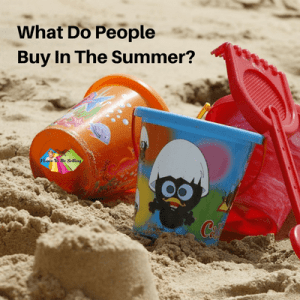 Use social media to discover what sells in the Summer. #eBay