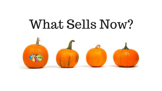 Whats sells in October? #eBay