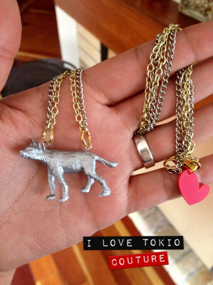 Silver Animals i Love Tokio Couture 1