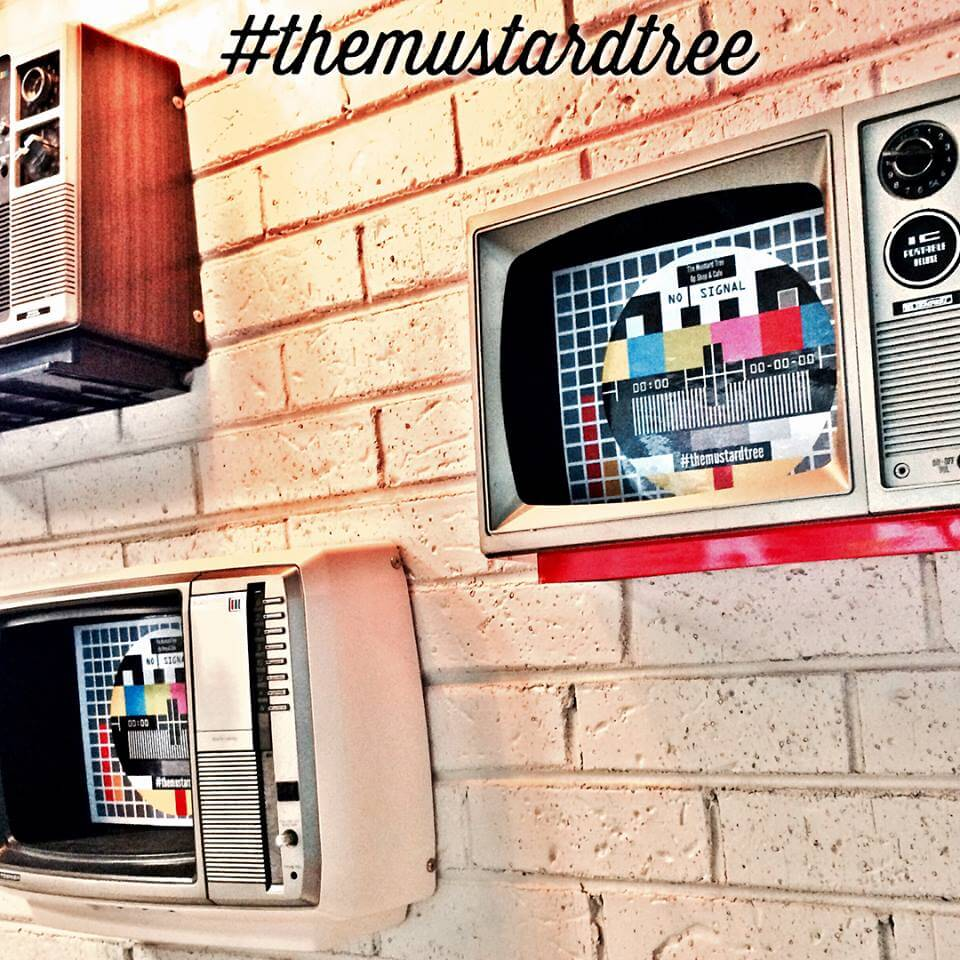the mustard tree upcycled television