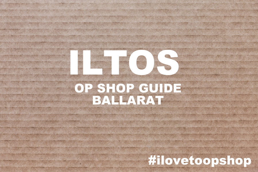Ballarat Op Shop Guide
