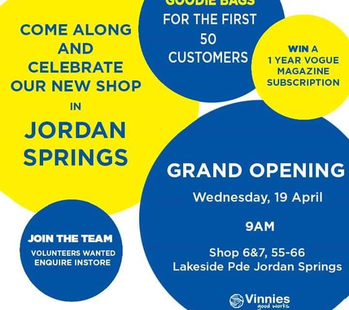 New op shop to Jordan Springs