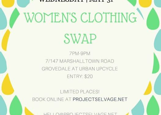 Urban Upcycle Clothing Swap Geelong