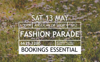 St Andrew's Op Shop Fashion Parade