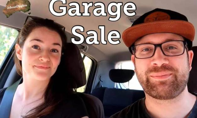 2AussieThrifters Hit the Garage Sales