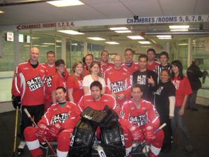 2008 Montreal Media Celebrity Hockey Marathon