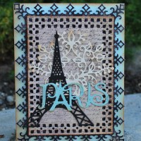 Cheery Lynn Designs: Vintage Paris card
