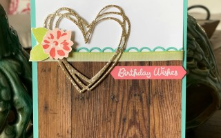 Birthday Wishes card