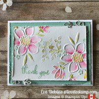 Lovely Floral Watercolor card